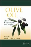 Olive oil [electronic resource] : minor constitutents and health