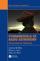 Fundamentals of radio astronomy : observational methods