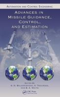Advances in missile guidance, control, and estimation [electronic resource]