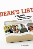 Dean's List