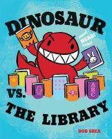 Cover Art for Dinosaur vs. the library