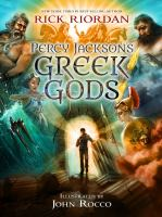 Cover of the book Percy Jackson's Greek gods