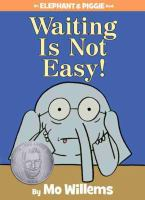 Cover of the book Waiting is not easy!