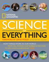 book cover national geographic science of everything