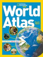 book cover for National Geographic Kids World Atlas