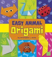 Easy Animal Origami