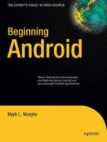 Beginning Android [electronic resource]