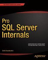 Pro SQL server internals [electronic resource]