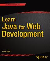 Learn Java for Web Development [electronic resource]