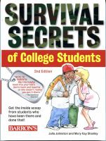 Survival Secrets of Colleges Students