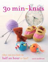 30 Min-knits
