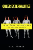 Queer externalities : hazardous encounters in American culture