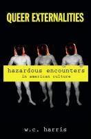 Queer externalities : hazardous encounters in American culture
