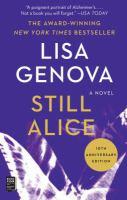 Still Alice : a novel