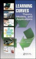Learning curves [electronic resource] : theory, models, and applications