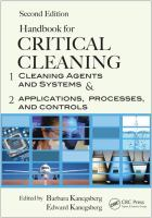 Handbook for Critical Cleaning Second Edition [electronic resource]