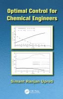 Optimal control for chemical engineers [electronic resource]