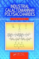 Industrial galactomannan polysaccharides [electronic resource]