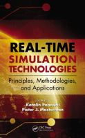Real-time simulation technologies [electronic resource] : principles, methodologies, and applications