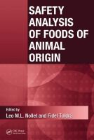 Safety analysis of foods of animal origin [electronic resource]