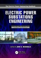 Electric power substations engineering [electronic resource]