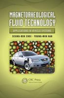 Magnetorheological fluid technology [electronic resource] : applications in vehicle systems