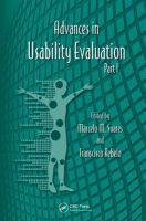 Advances in usability evaluation. Part I [electronic resource]