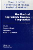 Handbook of approximate Bayesian computation /