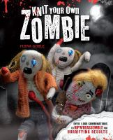 book cover knit your own zombie