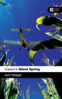 Carson's Silent spring : a reader's guide