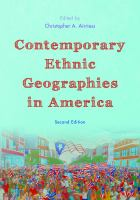 Contemporary ethnic geographies in America