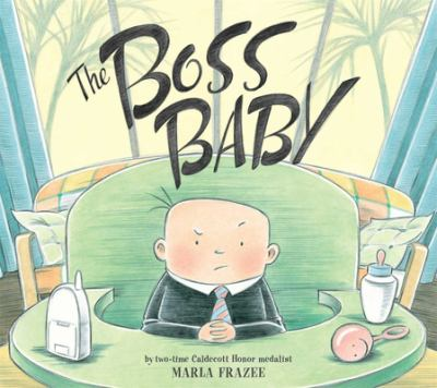Boss Baby book jacket