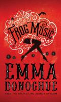 Book cover image - Frog Music