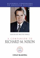 A companion to Richard M. Nixon [electronic resource]