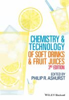 Chemistry and technology of soft drinks and fruit juices [electronic resource]