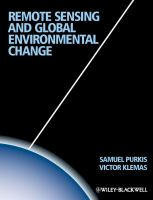 Remote sensing and global environmental change [electronic resource]