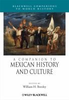 A companion to Mexican history and culture [electronic resource]