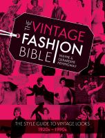 book cover image Vintage Fashion Bible