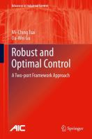 Robust and optimal control [electronic resource] : a two-port framework approach