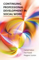 Continuing professional development in social work