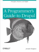 Programmer's guide to Drupal [electronic resource]