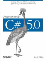 Programming C# 5.0 [electronic resource]