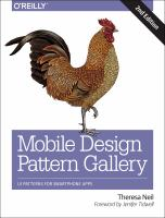 Mobile design pattern gallery : UI patterns for smartphone apps
