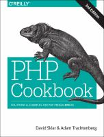 PHP cookbook : solutions & examples for PHP programmers