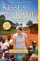 book cover image Kisses from Katie