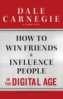 Book cover for How to Win Friends and Influence People in the Digital Age