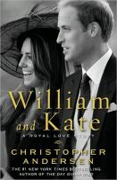 William and Kate : a royal love story