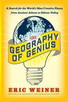book cover image Geography of Genius