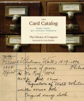 book cover image The Card Catalog