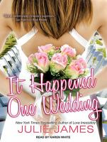 It happened one wedding [sound recording]